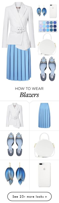"""Untitled #2601"" by ebramos on Polyvore featuring Victoria Beckham, Michael Kors and Mansur Gavriel"