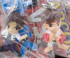 Kyo Kusanagi & Ryu SNK VS Capcom Figure Mascot King of Fighters Street JAPAN