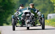 Morgan Three Wheeler Super Sports, built in 1932