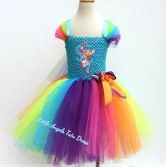 Shopkins Jessicake Dress. Chef Club Tutu. Handmade Tutu Dress. Shopkins Jessi Cake Tutu Dress. Rainbow Shopkins. Birthday Party Dress. by LittleAngelTutuDress on Etsy