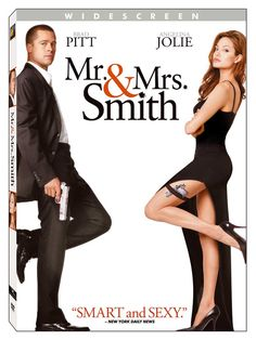 Mr. & Mrs. Smith 2005  A bored married couple is surprised to learn that they are both assassins hired by competing agencies to kill each other.