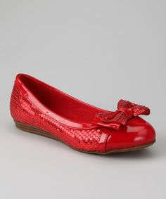 Another great find on #zulily! Dotty Shoes Red Cassidy Ballet Flat by Dotty Shoes #zulilyfinds