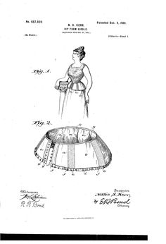 Patent US687839 - Hip-form girdle. - Google Patents 1908