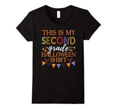 Amazon.com: My Second Grade Halloween Shirt for Teachers: Clothing