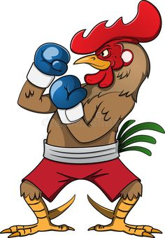 Illustration about boxing rooster cartoon vector illustration. Illustration of sport, male, farm - 59670165 Cartoon Cartoon, Cartoon Rooster, Cartoon Characters, Rooster Illustration, Rooster Tattoo, Rooster Painting, Comic Villains, Different Birds, Sketches