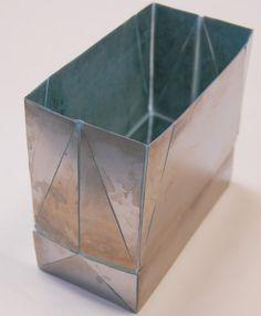 origami metal -