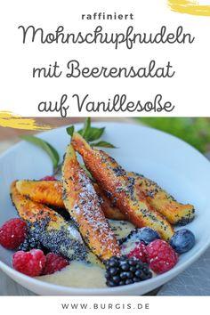 Süßes Schmankerl - nicht nur für die Oktoberfestparty. Dieses Rezept für süße Schupfnudeln ist einfach und raffiniert zugleich. Carrots, Vegetables, Food, Browning, Play Dough, Oktoberfest, Simple, Carrot, Veggies