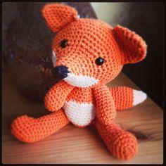 My Crochet Foxy Loxy!  Pattern by Pepika.