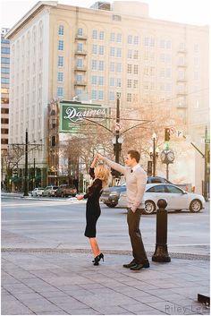 Engagement photography in Salt Lake City Utah Riley Lee Photography
