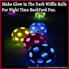 Dollar Store Crafter: Use Dollar Store Glow Sticks To Make Glow In The D...