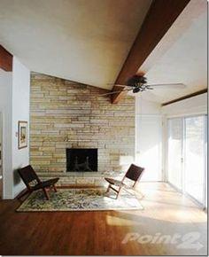 Mid Century Fireplace mid century fireplace | the new (old) house | pinterest | mid century