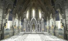 throne fantasy final castle concept xiv archbishop anime king iron