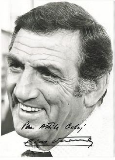 Lino Ventura autograph