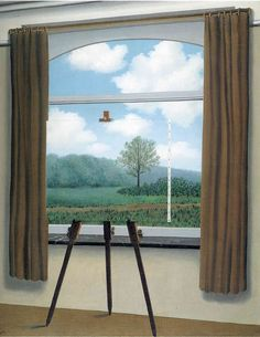 Rene Magritte, 'The Human Condition' (1933)