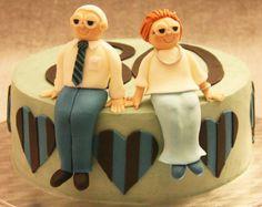 Grandfather orange cake with dark chocolate ganache filling  http://passionecupcakes.blogspot.it