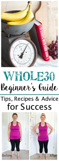 My Whole 30 Body Makeover | blesserhouse.com - Whole30 Beginner's Guide - Tips, recipes, and advice to lose weight, get more energy, and find success in healthy living. #whole30