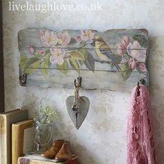 such a pretty little hook board                                                                                                                                                                                 More