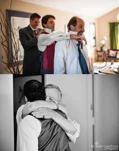 Wedding Photo Musts: Father of the Groom with the Groom