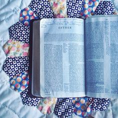 "{Esther} the book of the Bible where God is not mentioned once, yet His sovereign might is displayed on every single page. How many ""for such a time as this"" moments go by us without us noticing? We are a part of a bigger story :: God's story. How can this day be lived with that mindset? #forsuchatimeasthis #lifelivedbeautifully"