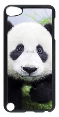 Cute Panda Case for Ipod Touch 5 PC Material Black, $12.99