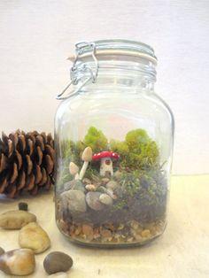 Fairy village Miniature fairies and Fairy houses on Pinterest
