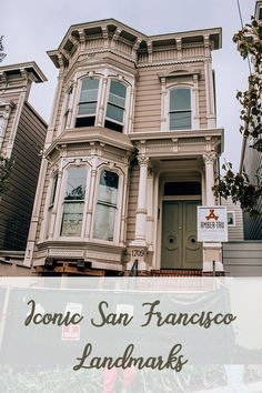 10 Iconic San Francisco Landmarks | Are you planning a trip to San Francisco and wondering what you should see? Click here for a list of some of the most iconic San Francisco landmarks to help you make your itinerary! Buckle up for some photos, tips and i Sonoma California, Visit California, California Travel, San Francisco Attractions, San Francisco Neighborhoods, Yosemite Sequoia, Places To Travel, Places To Go, San Francisco Photography
