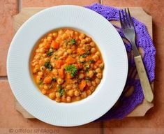 Diet Recipes, Vegan Recipes, Chana Masala, Healthy Life, Healthy Foods, Carrots, Side Dishes, Paleo, Food And Drink
