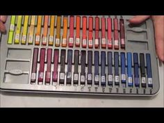 Intro Extensive Inktense by Karen Burchill - YouTube