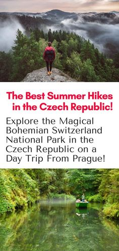 Hiking in the Czech Republic - Explore the magical Bohemian Switzerland National Park on a day trip from Prague this summer! Click here for tour info! #hiking #prague #czechrepublic #europe #travel #bohemianswitzerland