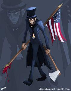 Abraham Lincoln: Vampire Hunter by derekblairart on DeviantArt Abraham Lincoln Vampire Hunter, Batman, Actresses, Deviantart, Actors, Superhero, Movies, Anime, Robert Pattinson