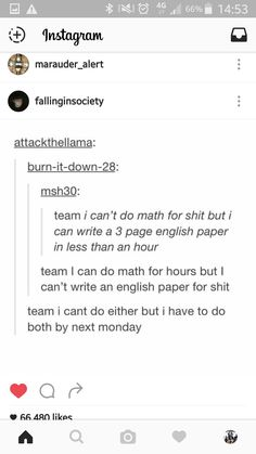 I'm the essay one XD In English 10 I stopped giving two fucks about homework, my teacher HATED me because I aced all her tests and rocked an essay with my eyes closed XD