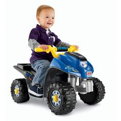 Have to have it. Fisher-Price Power Wheels Batman Lil Quad Battery Powered Riding Toy $99.99