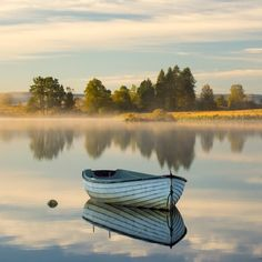 Loch Rusky Autumn II by David Mould on Boat Art, Boat Painting, Landscape Photographers, Landscape Photos, Nature Pictures, Beautiful Landscapes, Nature Photography, Beautiful Places, Scenery