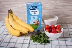 Творожный крем с ягодами и мятой - пошаговый рецепт приготовления с фото Banana, Fruit, Food, Eten, Bananas, Fanny Pack, Meals, Diet