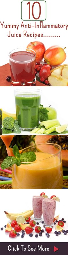 10 Yummy Anti-Inflammatory Juice Recipes And Their Benefits For Your Health More