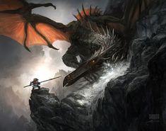 Sir Jonathan and the Dragon, Floris Didden on ArtStation at http://www.artstation.com/artwork/sir-jonathan-and-the-dragon
