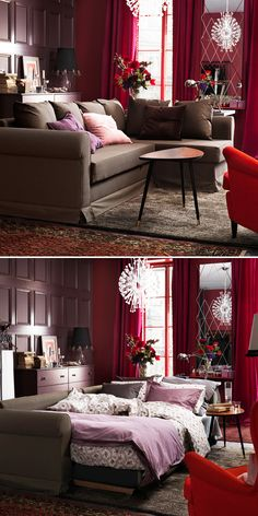 Daily inspiration on pinterest catalog tools and ikea Dual purpose living room bedroom