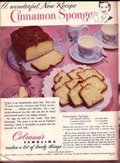 Cinnamon Sponge
