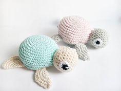 szydełkowe żółwie