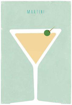 Mint Color Cocktail by shlomitsart