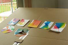 Rust & Sunshine: Spin Art