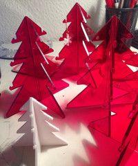 Christmas Tree Jewellery stands.