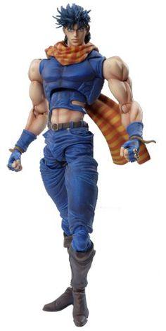Medicos JoJo's Bizarre Adventure: Part 2--Battle Tendency: Joseph Joestar Super Action Statue