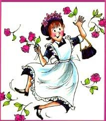 Amelia Bedelia I used to read her when I was a kid, and then my daughter and I read her all the time when she was little!!! <3