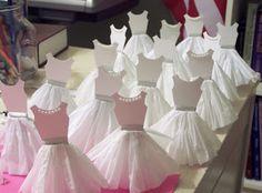 Crie e Faça Você Mesmo : Lembrancinha para festa de bailarina passo a passo