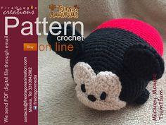 FireDragon Creations: #Patron #Crochet #TsumTsum #MickeyMouse