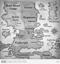 Map of how to world should be...