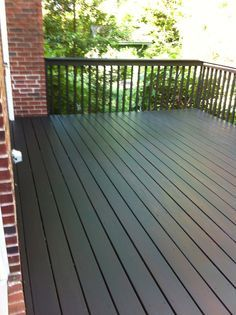 We Wound Up Using Behr Solid Stain In Slate Chose It Because Of Its Scores On A Consumer Reports Test And Generally Have Had Good Results