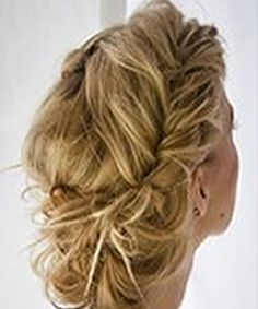 Prom hair up do