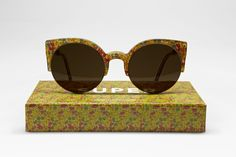 "Super's Lucia Liberty & Co II Poppy/Daisy Sunglasses. Still waiting to be checked on my ""things-I-want-list"""